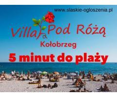 Noclegi blisko plaży Kołobrzeg